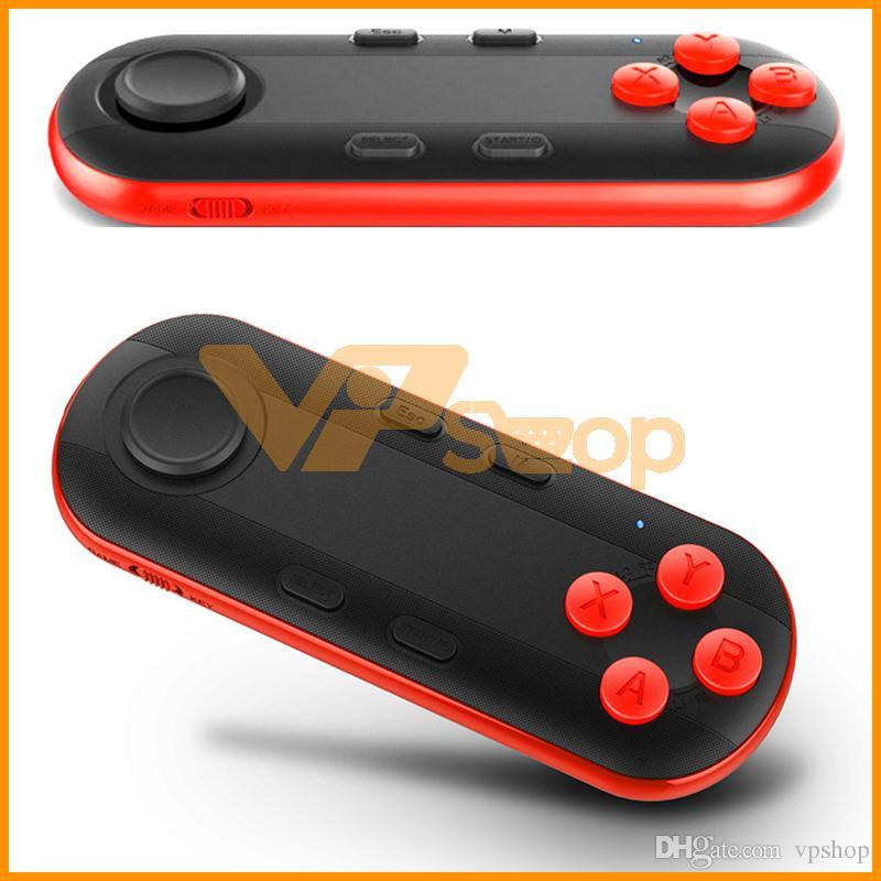 Sem fio Bluetooth VR 3D Gamepad Controle Remoto Mini Joystick controlador Bluetooth Game Console Compatível com IOS Android Sistema PC