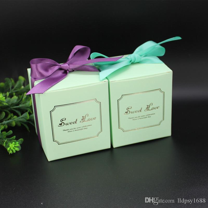 Yaratıcı Şeker Kutusu Bebek Duş Kağıt Çikolata Kutuları Paket Düğün Hediyeleri Şekeri Kutusu Bomboniera Parti Malzemeleri Düğün Hediyeleri Şekeri Kutusu