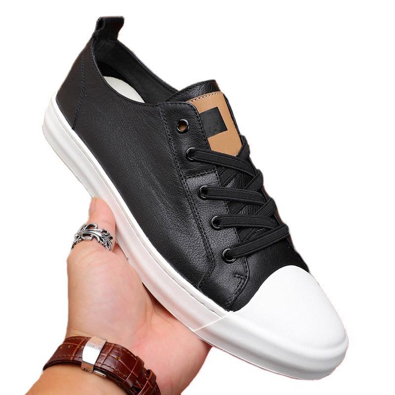 Высокое качество роскошные мужские туфли черные классические кожаные дизайнерские кроссовки кружевные туфли модный стиль тройная ходьба походная обувь легкая повседневная обувь