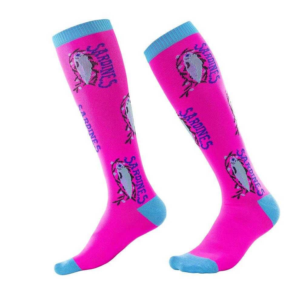 Geeignete Socken 2-10 Jahre alte Kinder Socken Kinder Socken Babysocken Baby-Kind-Socken-Sweat-saugfähig und komfortable Fußball-Socken-freies Verschiffen