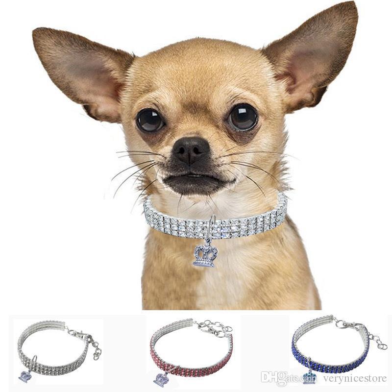 2019 collar de perro hermoso tramo de mascotas para Mascotas collar del gato Nueva Único alimentos para mascotas de la venta caliente