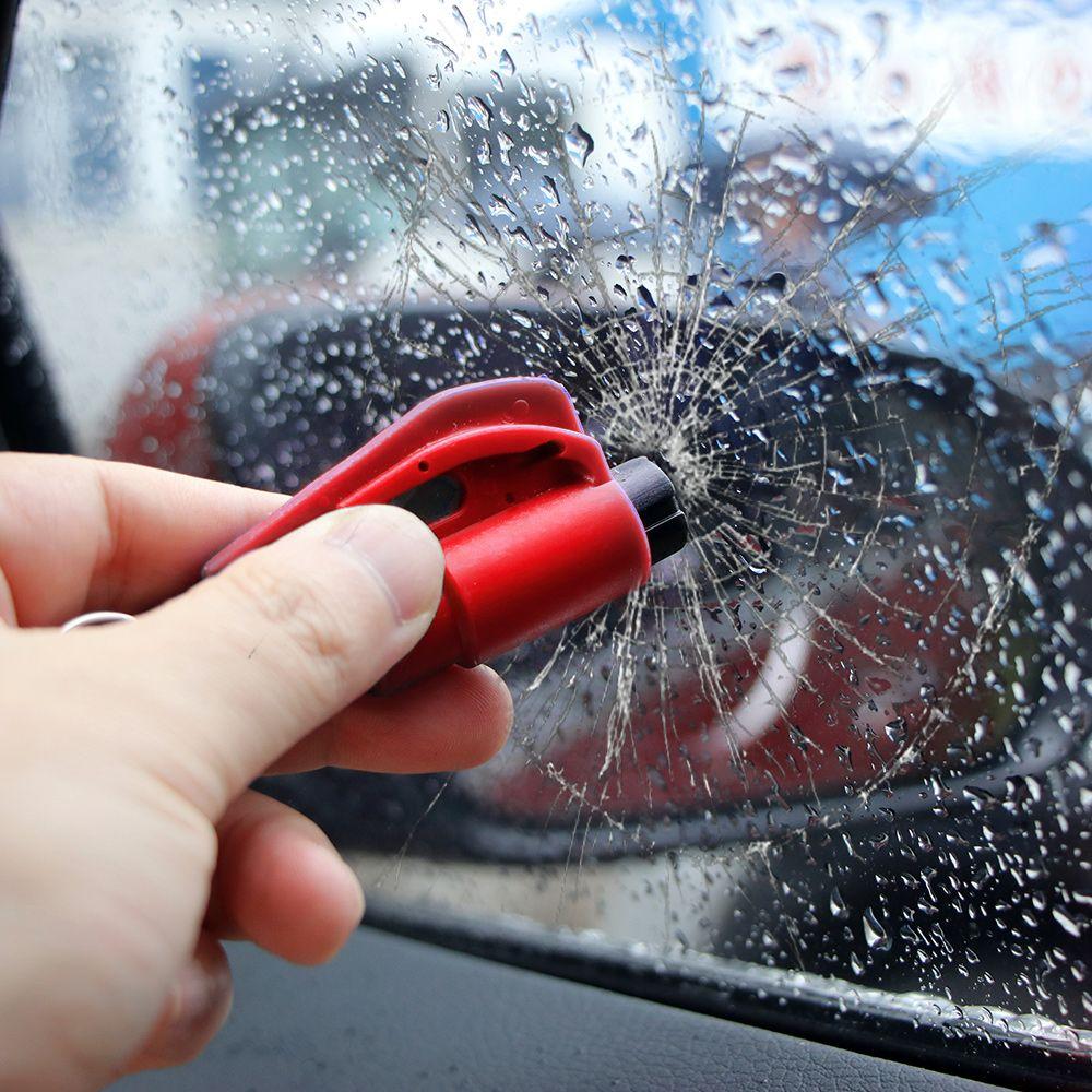 CAR SAFETY SMASH GLASS WINDOW WINDSCREEN BREAK EMERGENCY HAMMER SEAT BELT CUTTER
