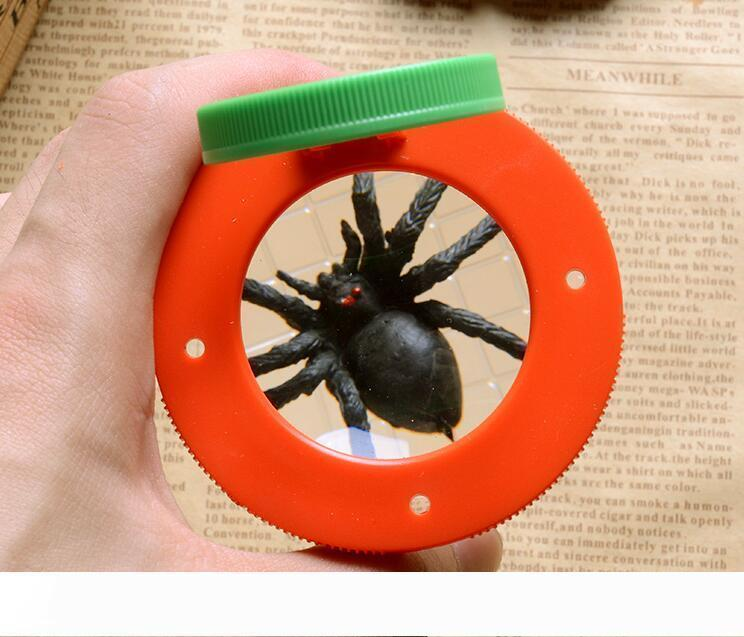 B Bug Box Magnify Insects Viewer box 2 Lens 4x Magnification Magnifier Childs Kids Toy Entomologists Free Shipping