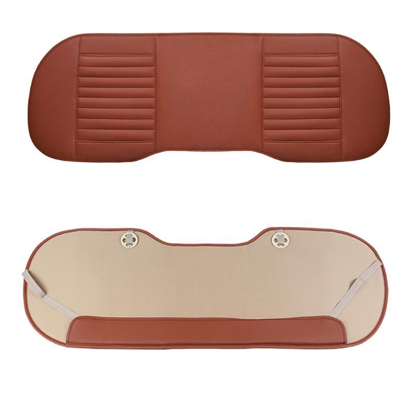 Universale Seggiolino Auto PU Leather copertura di sede di bambù Cuscini Organizzatore Auto Back Protector posteriore Mat Four Seasons Accessori
