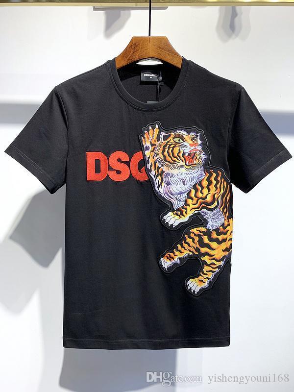 20SS Italy Disco Punk Streetwear Mens T-shirts Letter Print High Quality Shorts Tops Men Women Hip Hop Harajuku T Shirt Tee YY581