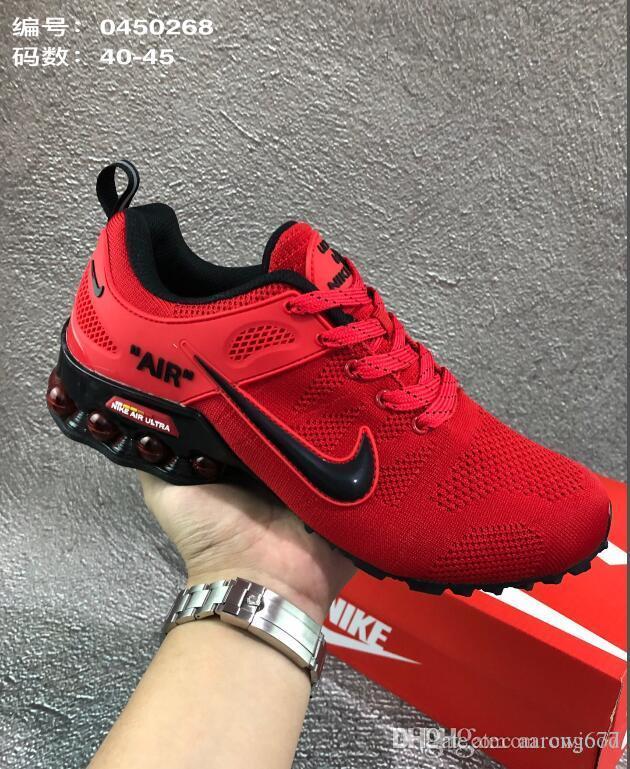 2019 Nike Air Shox Ultra 2019 Gravity Metallic Mens Womens Running Shoes Triple White Sports Walking Designer Sneakers 36 45 From Aarongood, $83.92 |