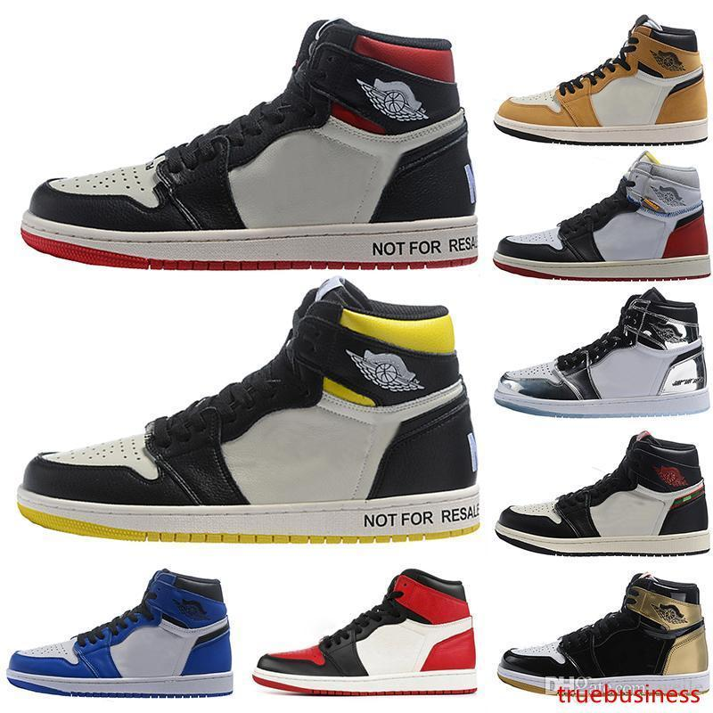 NRG Keine Ls Union A Star Is Born Rookie Of The Year OG Herren-Basketball-Schuhe 1s Bred Toe Designer Turnschuh-Trainer-Schuh