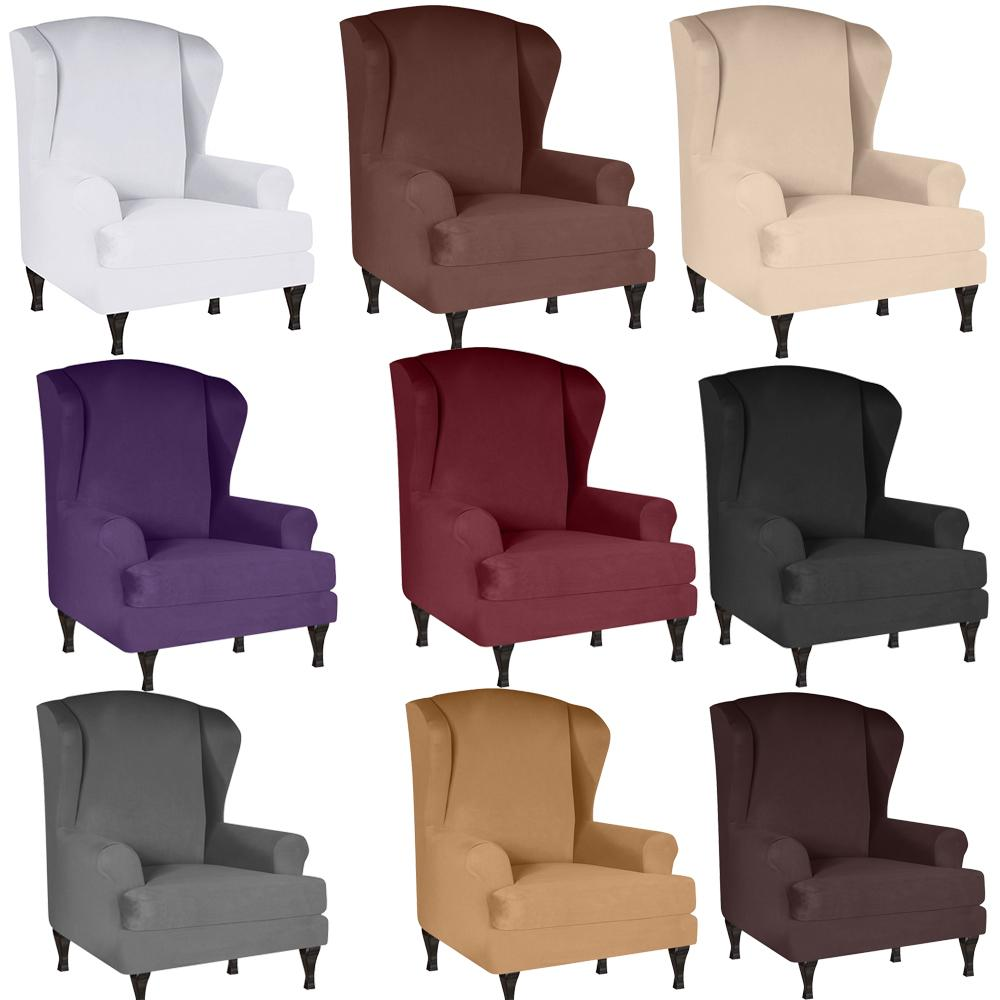 스트레치 스판덱스 소파 커버 소파 쿠션 커버 안락 의자 시트 커버 탄성 우유 실크 단색 커버 거실 침실을위한