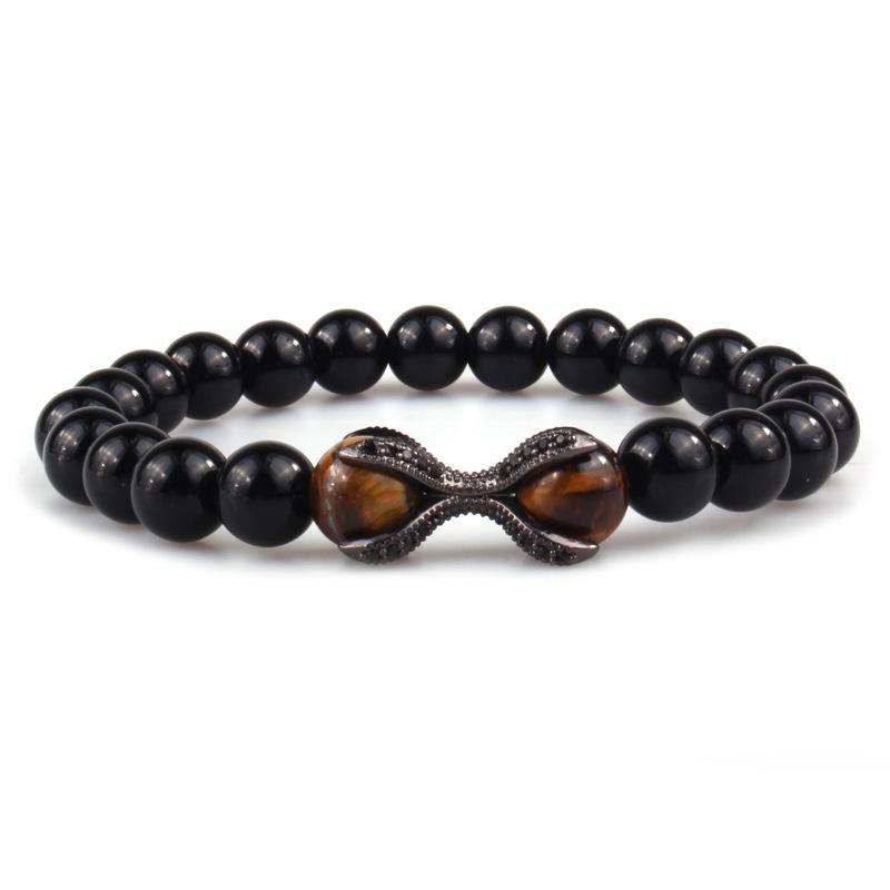 Bracelet en perles naturel Bracelet Pierre Belle Bracelet en pierre naturelle