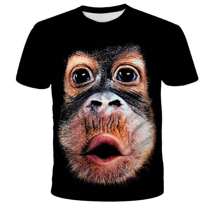 2020 Нового прибытия Популярной Новизны животных Свиньи Овца серии Tshirt Мужчины Женщина 3D печать Tshirt Harajuku Style T Shirt Summer Tops 2060607V