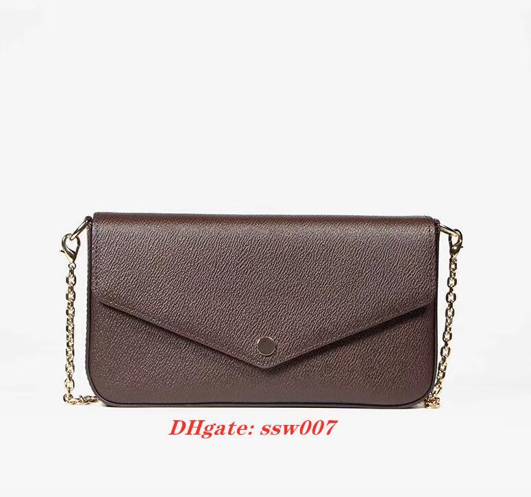 نموذج 61276 أحدث حقائب المرأة عالية الجودة أكياس الأزياء النساء حقائب الكتف حجم 21/11/2 سم