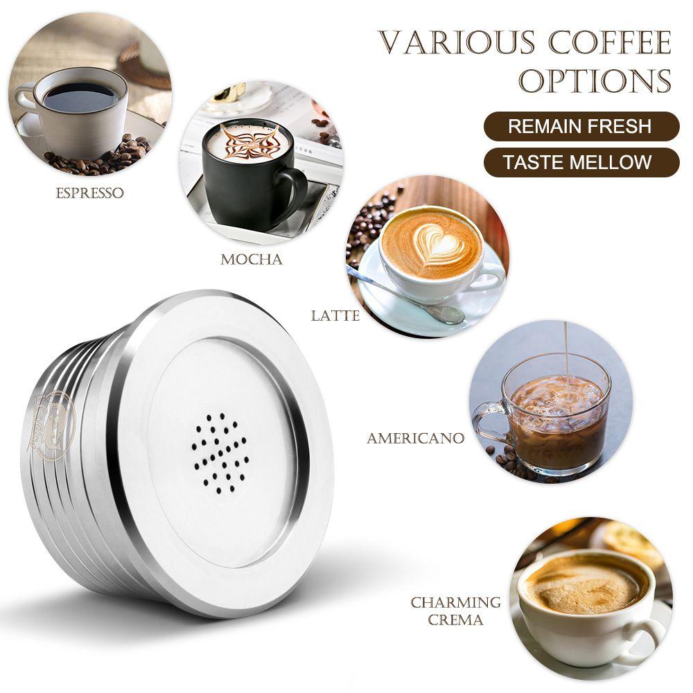 Delta Q T200523 ile uyumlu Yeniden kullanılabilir Paslanmaz Çelik Yeniden kullanılabilir Kahve Kapsüller Kahve Kapsül Kupası Filtre