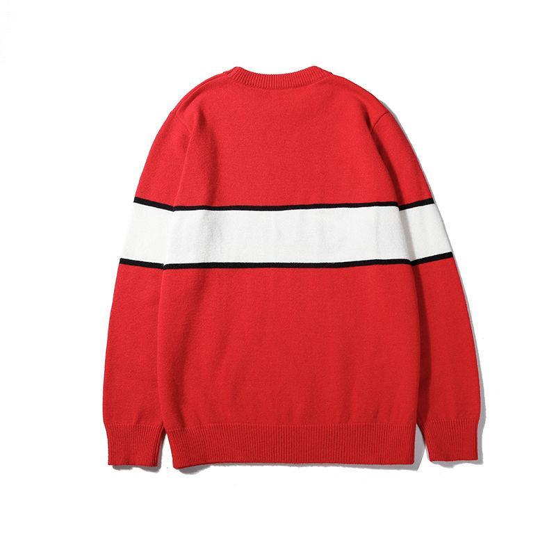 Erkek Tasarımcı Erkekler Kadınlar Için Hoodie İlkbahar Sonbahar Stil Sweatershirt Marka Hoodie Lüks Süveter Uzun Kollu Çizgili Hoodie Boyutu M-2XL