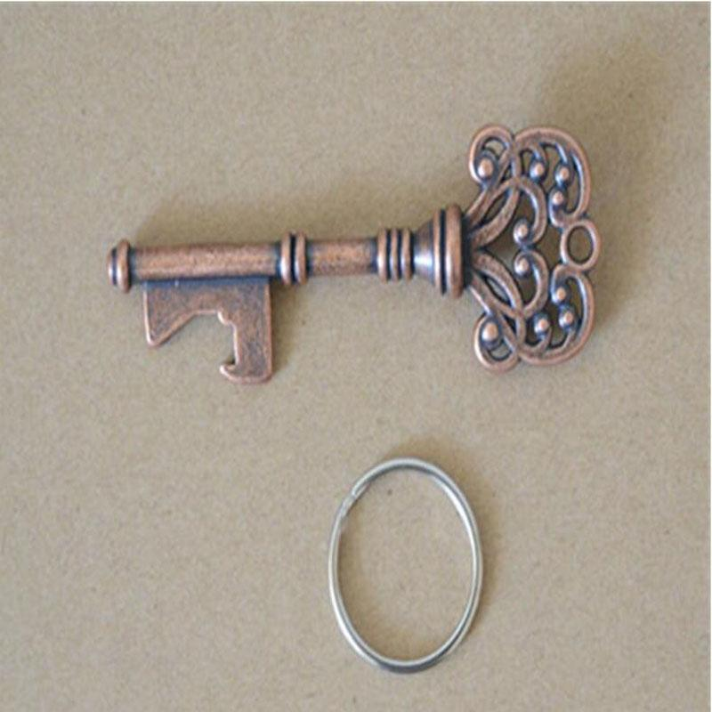 HouseHolds Novelty Mini UK Suck KeyChain Key Chain Beer Bottle Opener Stainless Bottle Opener Coca Can Opening Tool with Ring