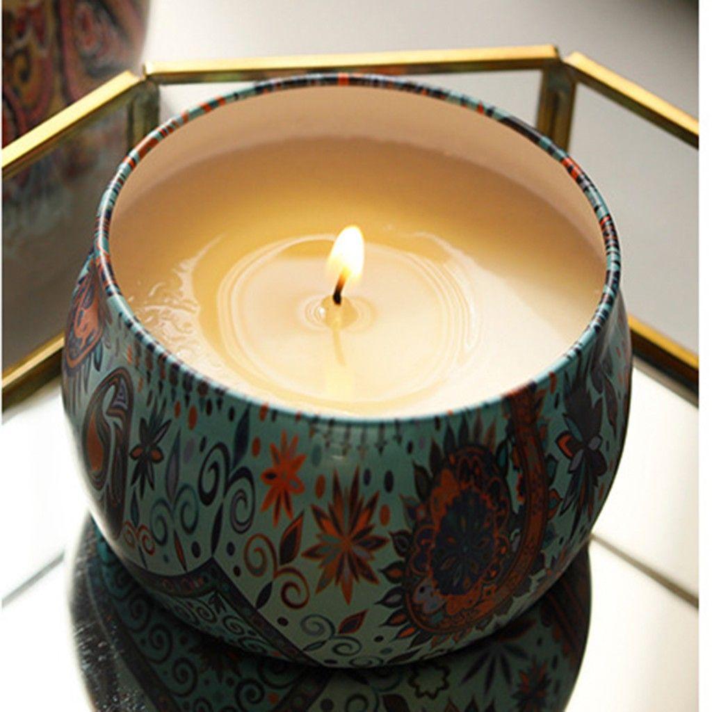Compre Vela Perfumada Gift Set Natural Planta Soy Wax Lavanda Gardenia Sem Fumaca Vela Set Candle Aromaterapia De Erikaning 65 63 Pt Dhgate Com
