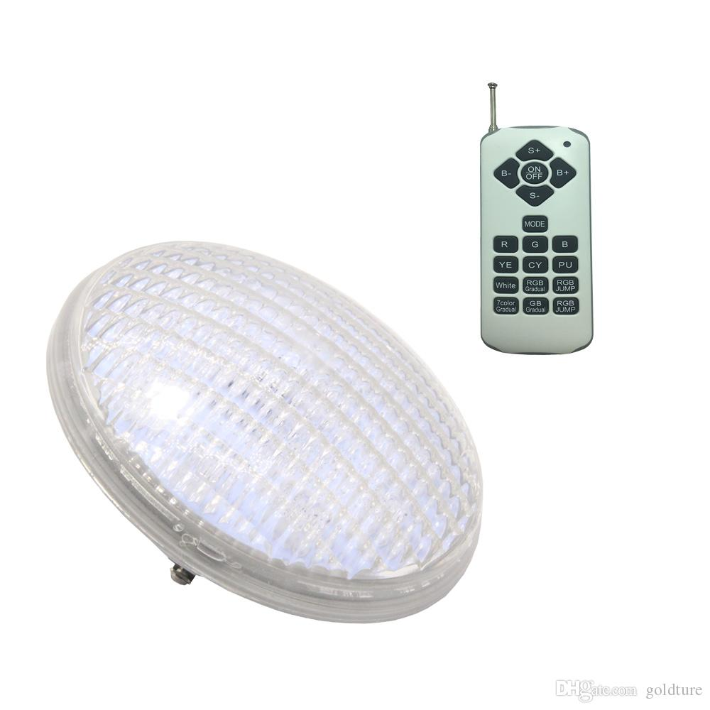 LED PAR56 Faretto RGB Piscina Subacquea Illuminazione 12V Piscina IP 68 Impermeabile sincrono con telecomando