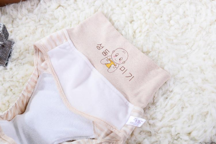 2020 New Arrival Newborn Infant Diaper Pants Cotton Waterproof and Breathable Washable Baby Diaper Cover High-waisted