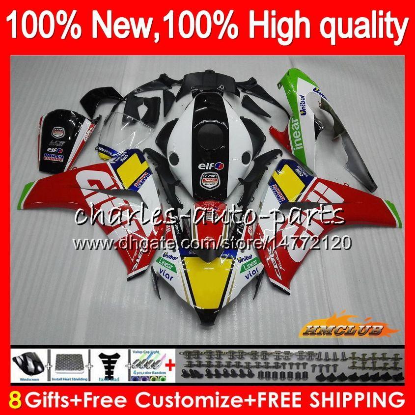 Body For HONDA CBR 1000RR Red white new CBR 1000 1000CC RR CC 79HC.32 CBR1000 RR CBR1000RR 08 09 10 11 2008 2009 2010 2011 Fairings OEM Kit