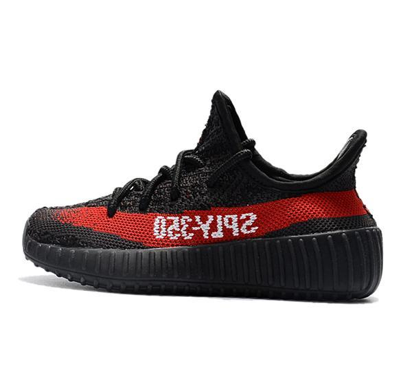 Scarpe a buon mercato per bambini V2 Cream Bianco Zebra SPLY semi congelati Beluga ragazze del ragazzo Running Shoes Sport Bambini Kanye West