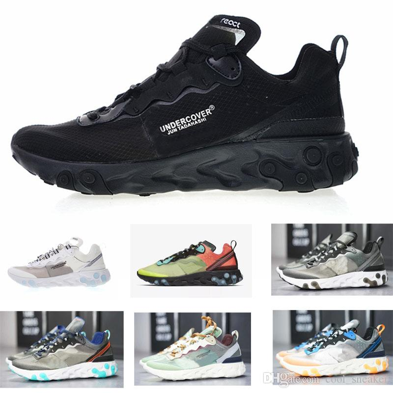 react 2019 sneaker reattiva all'ingrosso free run 87 87 sneaker per uomo donna Lover Running Scarpe sportive
