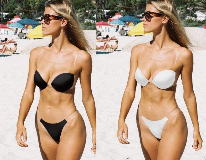Bikinis ensemble du sport pièce Bikinis réglé imprimer léopard une équerre en acier haute de ceinture d'épaule recueillies dentelle col youfine V fendu jusqu'à maille creux