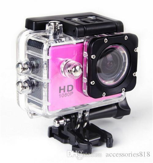 50PCS 1080p HD Camera Digital 30 Metros 140 ° lente grande angular Profundidade impermeável Underwater Sports Camera Camera Mergulho Posto SJ40000