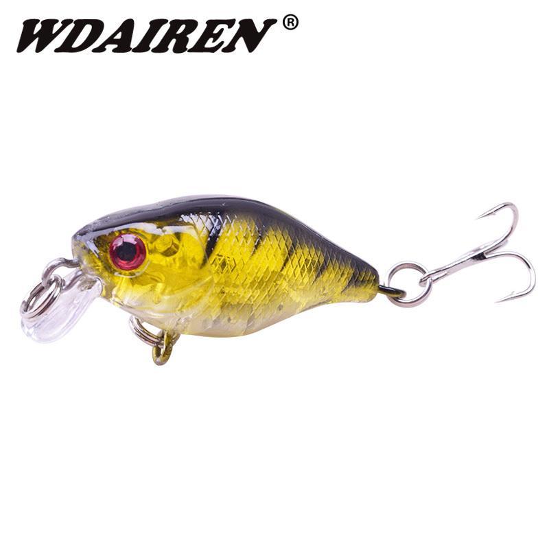 1pcs 4.5cm 4.3g Fishing Lure Japan Mini Wobblers Artificial Hard Bait Crankbait Topwater Swim Carp Lures Fishing Tackle Wd-382