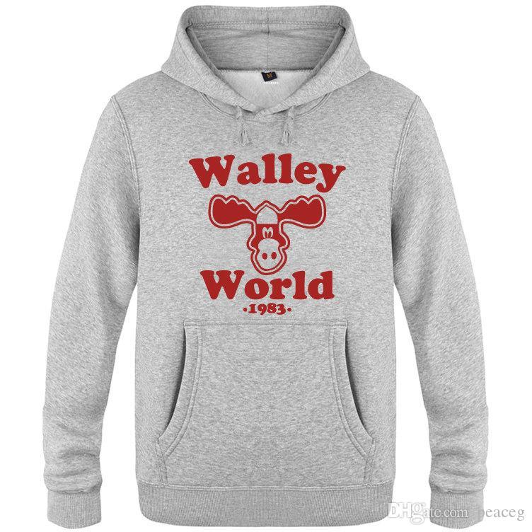 Wally felpe mondo Griswold vacanza in famiglia abbigliamento caldo pile alti giacca di cotone Colorfast cappotto stampa spazzolato Colorfast felpe