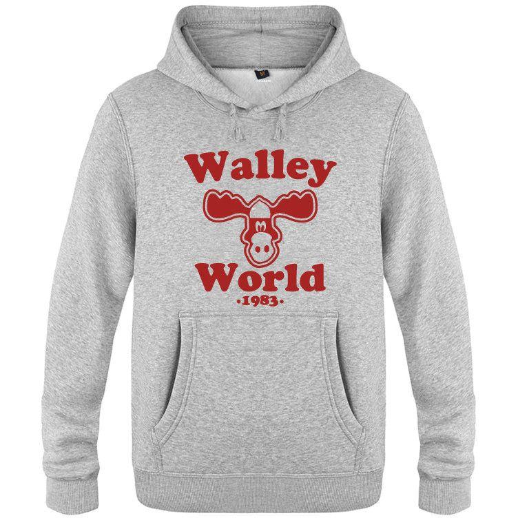 Wally Dünya hoodies tatil griswold aile polar giysiler Sıcak Colorfast baskı ceket Fırçalı pamuk ceket Colorfast tişörtü başında