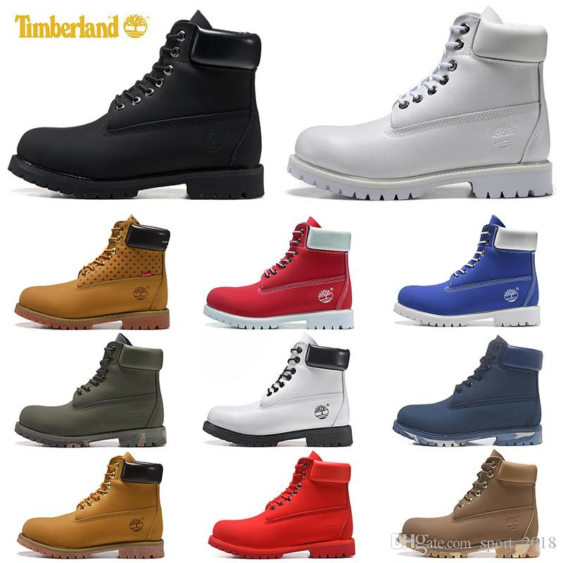 2020 2020 Timberland Boots Luxury Designer Men Women Casual Shoes Chestnut Black White Snow Winter Hiking Sneakers Mens Trainers Boot From Sport_2018,