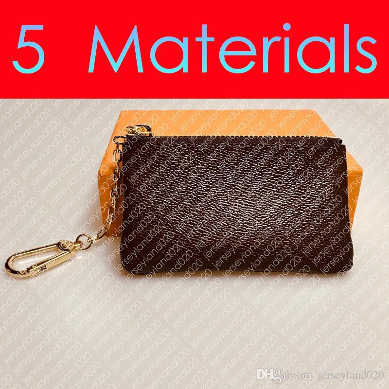 M62650 KEY POUCH POCHETTE CLES Fashion Designer da donna Portachiavi da uomo Titolare della carta Portamonete Pocket Organizer Borsa del raccoglitore Accessori di fascino