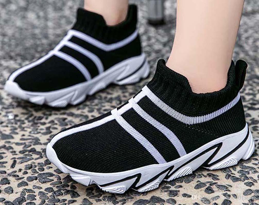 Damenschuhe Sneaker hochwertiger Frauen-Turnschuh-Frauen-beiläufige Schuh-Streifen-Loafer Kleid Schuhe Flache Schuh shoe001store px709