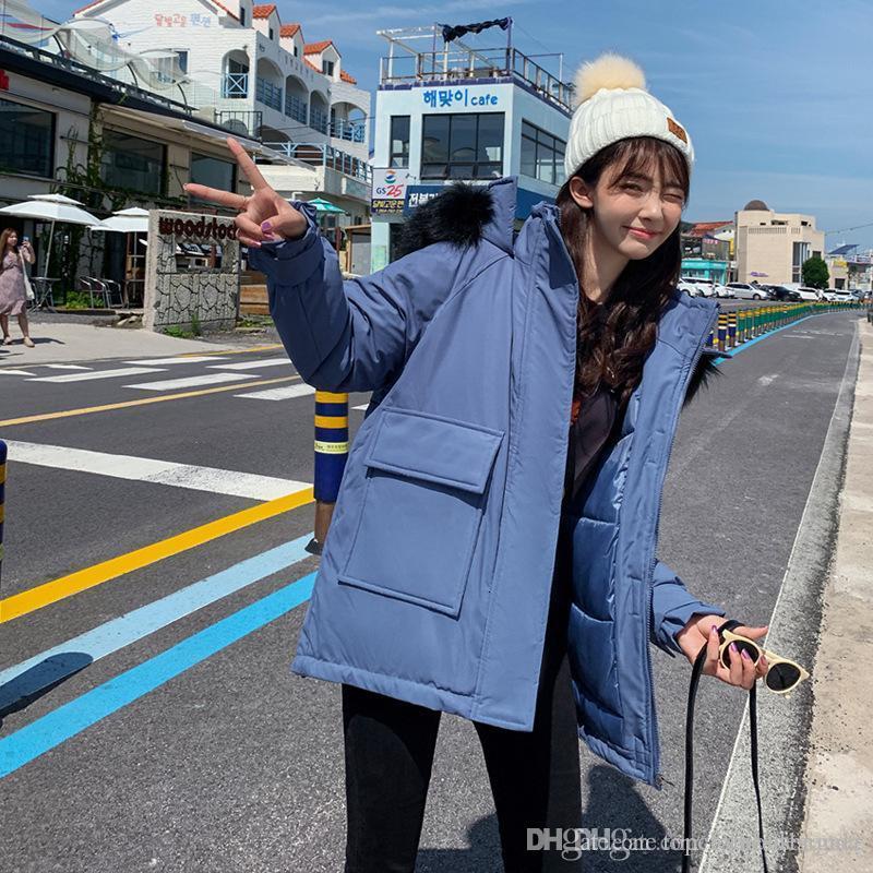 Women Sweet Designer Coat Winter Thick Warm Plue Size Fur Coat Casual Ladies Long Sleeve Solid Color Parka Women Outerwear