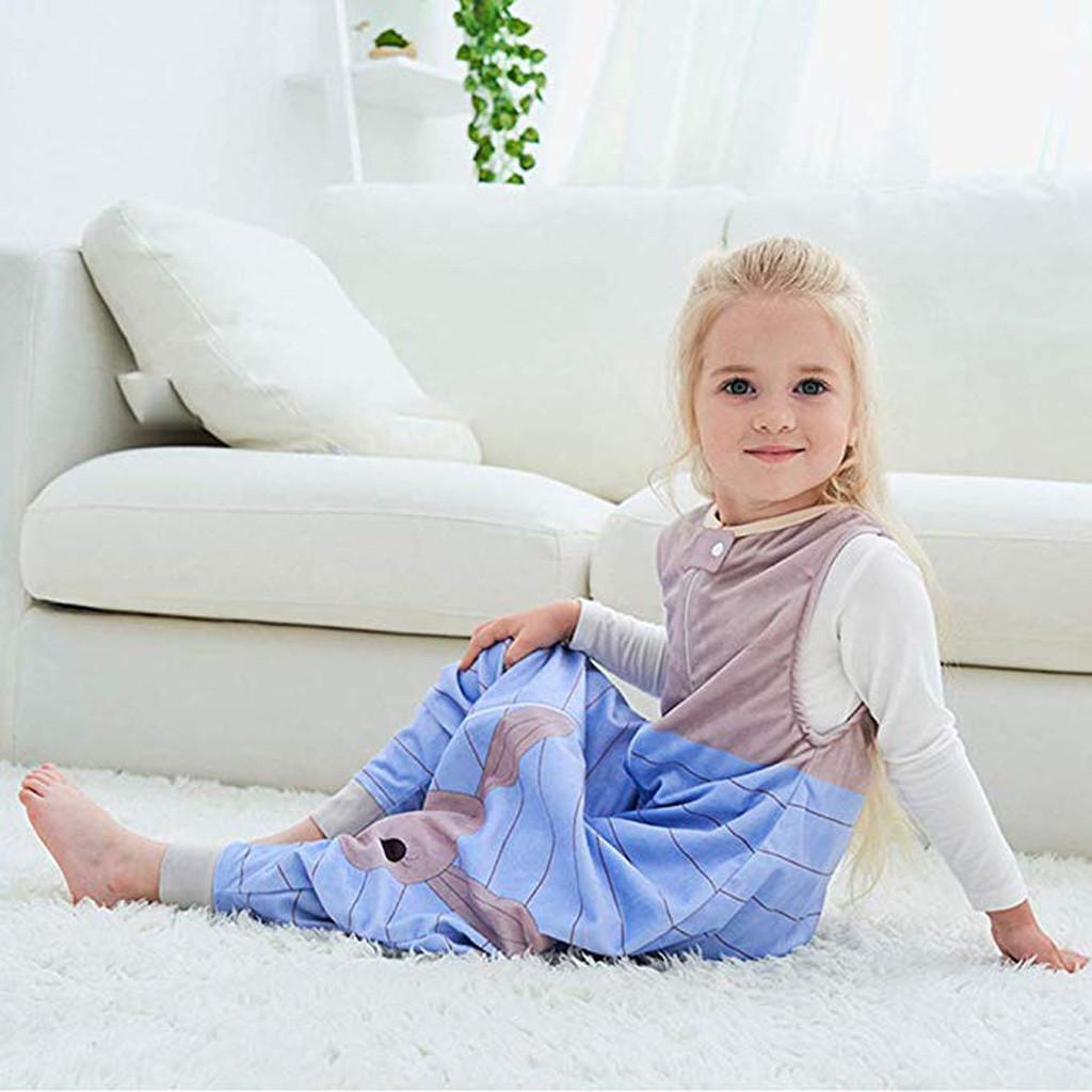 roupas meninas crianças Pijamas Bebés Meninos Meninas mangas listrado dos desenhos animados Quente Pijamas Macacão Pijamas para meninas Infantil