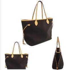 3 cores treliça 2pcs set Totes alta qualidade Mulheres senhoras bolsa bolsa sacos de ombro embreagem bolsa de senhora bolsa retro sacos de ombro