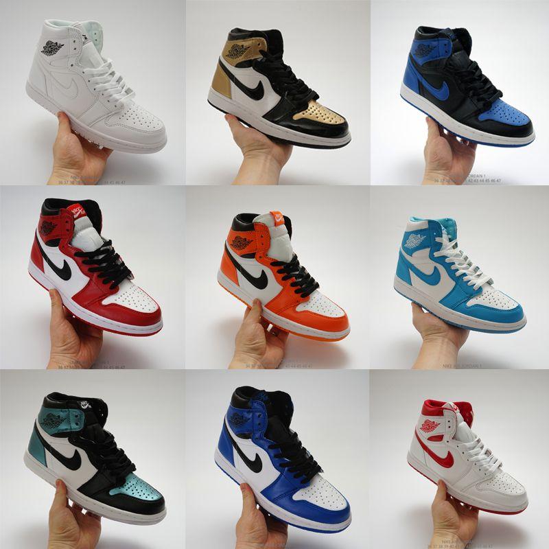 Marca original mens das mulheres sapatos de grife de moda tênis j1 1s jd 1 alta tênis de basquete branco preto vermelho azul cinza venda barato