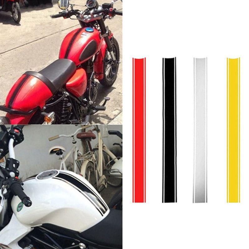 50 × 4.5 سنتيمتر للدراجات النارية تانك ملصق diy خزان الوقود ملصق للماء للدراجات فن الديكور الاكسسوارات HHA73