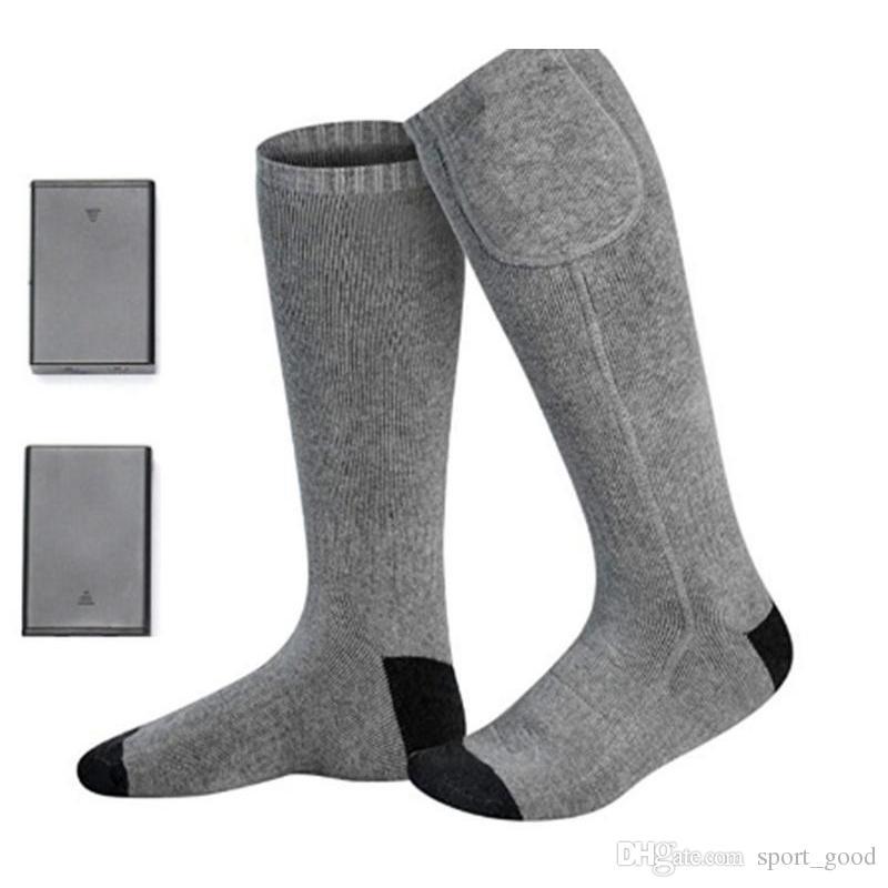 Schön elektrisch beheizte Socken mit Akku für chronisch kalte Füße Große USB-Heizsocken
