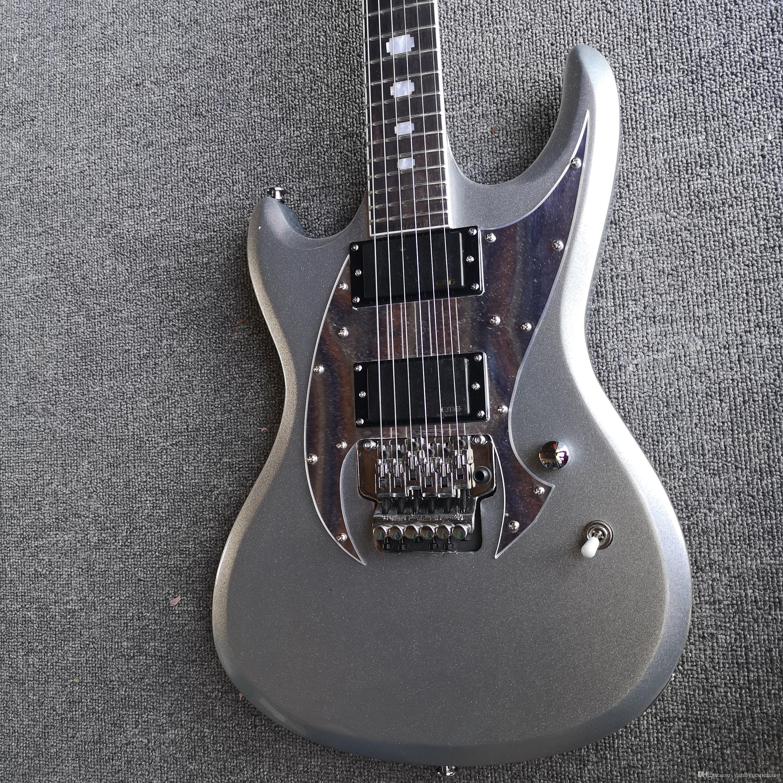 Argent super beau personnalisable garantie de qualité de la guitare