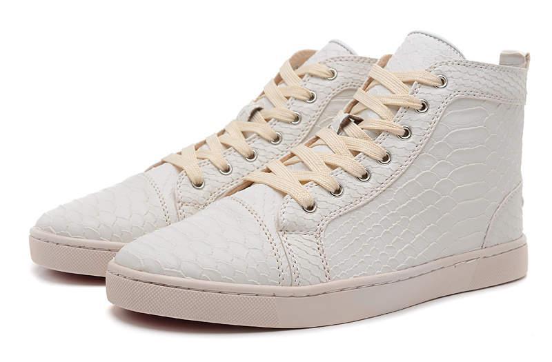 2019 novo designer ajuda alta Flats calçados casuais luxo fundo Red Mens e amantes do partido sapatilhas das mulheres de couro zapatos tamanho 35-46