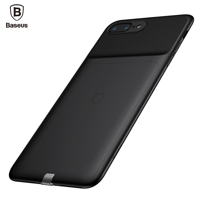 wholesale Universal Qi Wireless Charger Receiver For iPhone 8 7 Ultra Thin Slim Wireless Charging Cover Case For iPhone 8 7 Plus