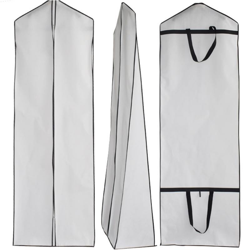 De espesor de material no tejido, se puede utilizar en el bolso protector vestido de novia a prueba de polvo, a prueba de polvo