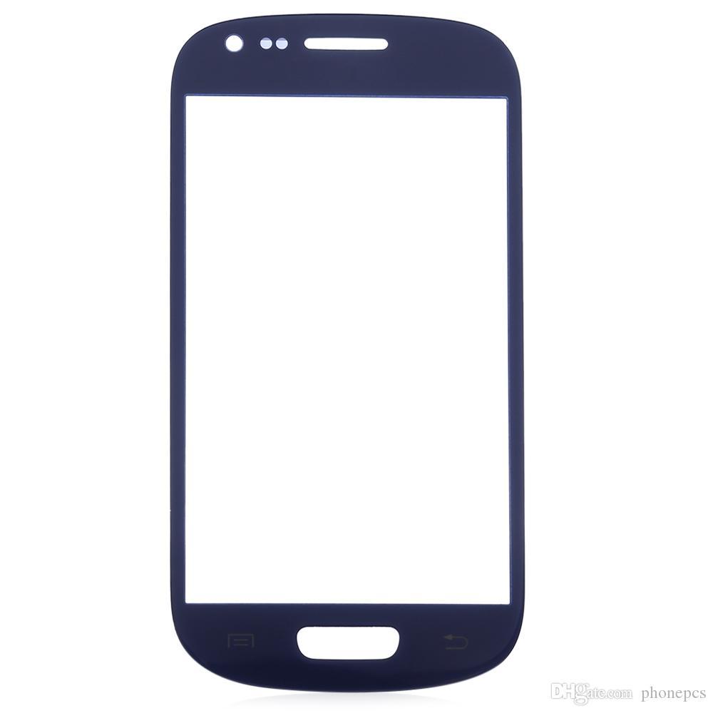 غطاء واقي بشاشة تعمل باللمس بالزجاج الخارجي مع أدوات إصلاح لهاتف Samsung S3 Mini