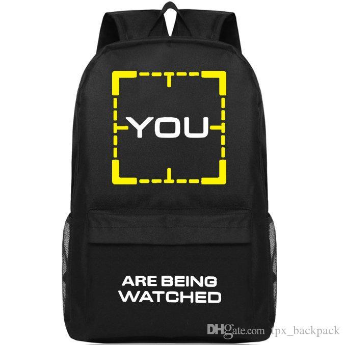 أنت حقيبة ظهر شخص من اليوم حزمة الاهتمام ويجري الآن مشاهدة حقيبة مدرسية البوب packsack طباعة حقيبة الظهر الرياضة المدرسية daypack في الهواء الطلق
