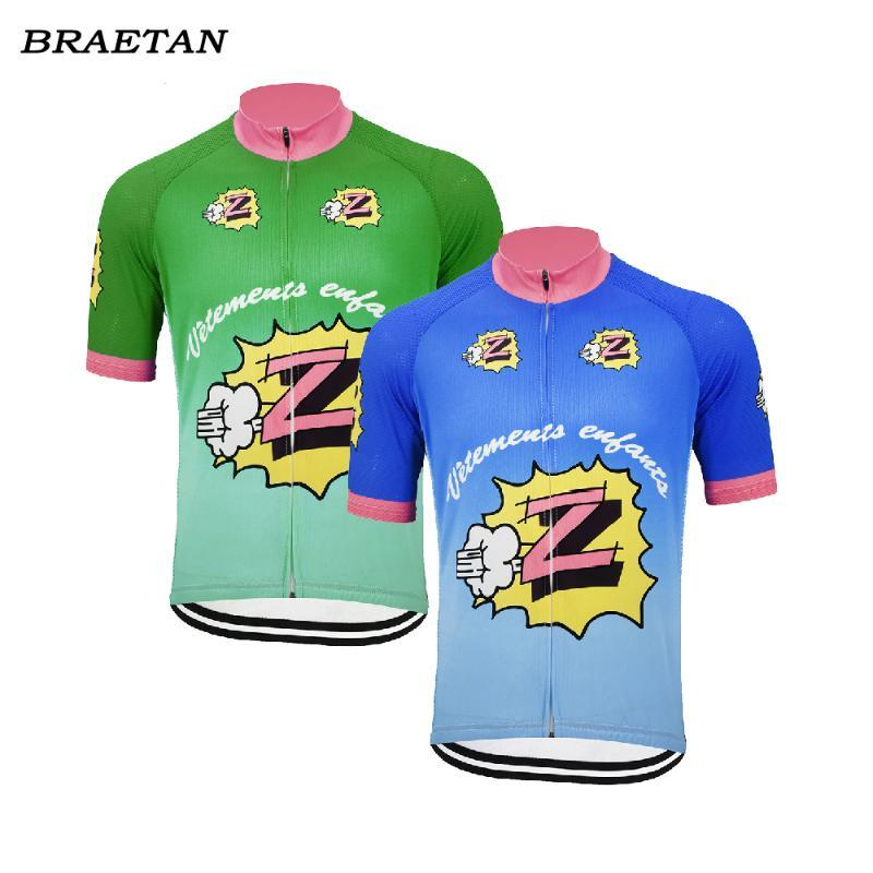 Retro Team Z Vetements cycling jersey men short sleeve clothing cycling wear bicycle clothes clothing hombre braetan