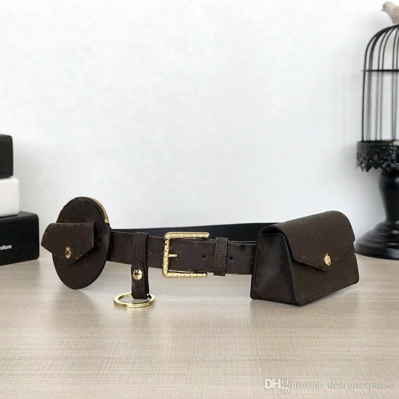 High quality 2019 brand fashion luxury designer bags DAILY MULTI POCKET BELT bags M0236U fannypack 90cm/80cm/70cm