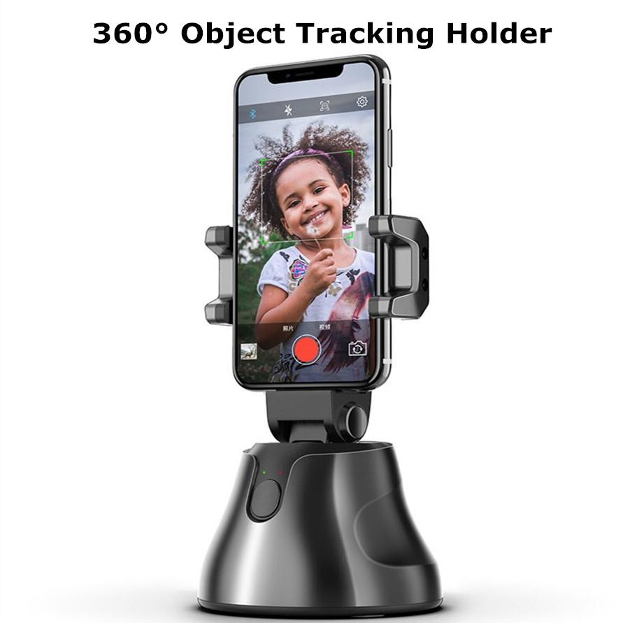 Smart 360 ° Objektverfolgung Halter All-in-one Rotation Face Tracking-Kamera-Telefon-Halter Schießen Selfie-Stick Apai Genie für Vlog Video Live