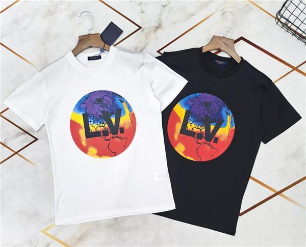 20FW Limited LOUIES Luxury Brand Men's Women's Tshirt Polo Designer t shirts polo Tee Shirt Casual WorldLogos Lovers girl tshirt 3.30