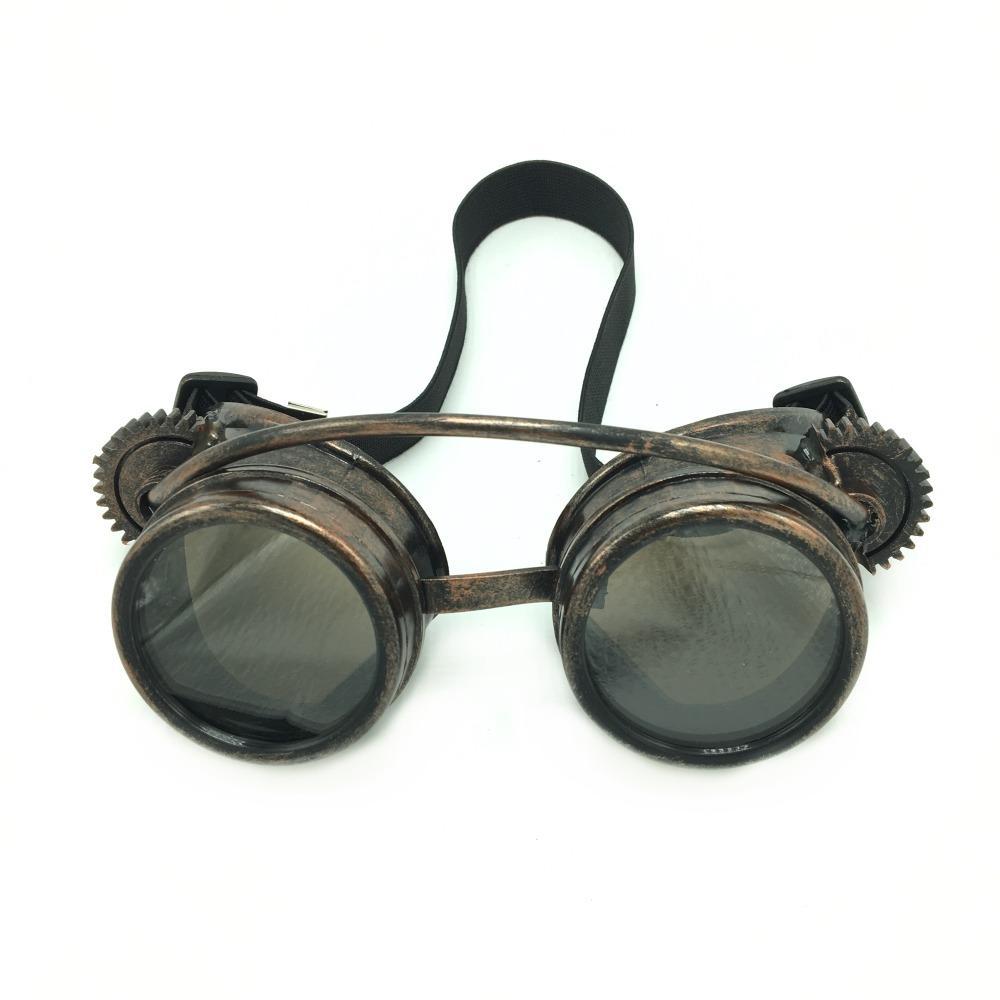 Kaléidoscope Steampunk Rave lunettes de lunettes pour la fête