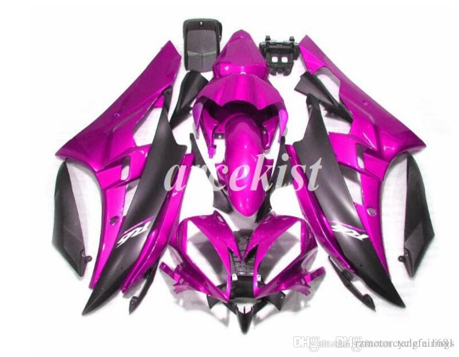 High quality Injection Mold New ABS Motorcycle Fairing Kits fit for YAMAHA YZF-R6 YZF600 2006 2007 R6 Bodywork custom Purple